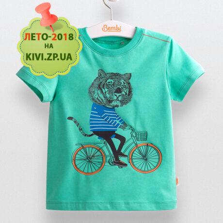 фб530 футболка летняя мальчику Бемби