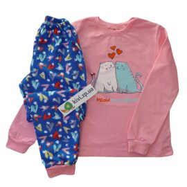 Пижама теплая для девочки Бемби пж42