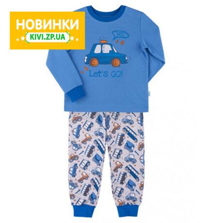 пижама теплая для мальчика кп206 Бемби