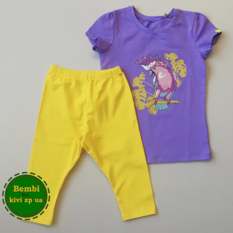 Летний костюм для девочек