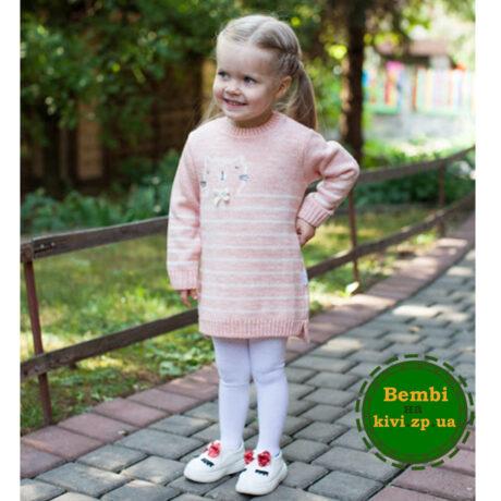 Теплое платье для малышки