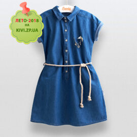 Платье джинсовое Бемби пл204