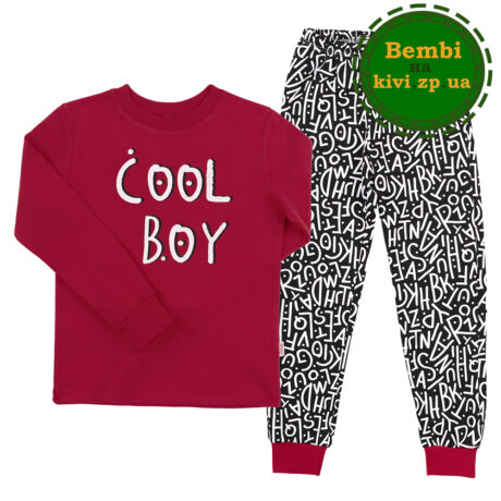 пижама для мальчика пж-39