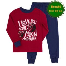 пижама красная для мальчика
